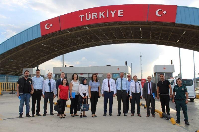 Sınır Kapıları Eylem Planı Çalışma Ziyareti