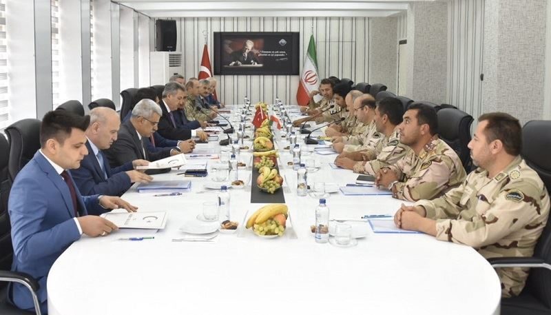 İkinci Derece Hudut Komiserliği Toplantısı