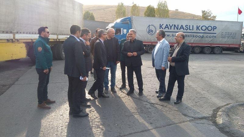 İran Büyükelçisi'nden Bölge Müdürlüğümüze Ziyaret